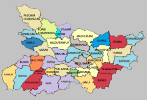 Bihar Map and Districts Map Dhanviservices Dhanvi Services