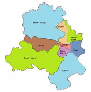 Delhi Map And Districts Map Dhanviservices Dhanvi Services