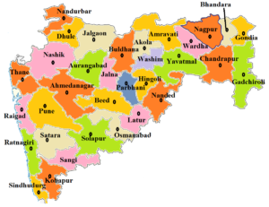 Maharashtra State Map And Districts Map Dhanvi Services Dhanviservices