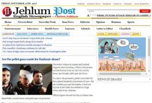 Jehlum Post News Website Dhanviservices Dhanvi Services