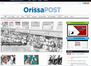 Orissa Post Odisha News Website Dhanviservices Dhanvi Services
