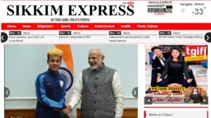 Sikkim Express News Website Dhanvi Services Dhanviservices
