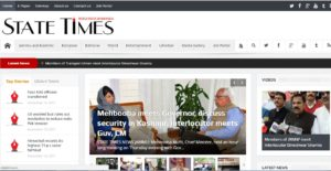 State Times News Website Dhanviservices Dhanvi Services
