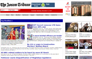 The Assam Tribune Dhanviservices Dhanvi Services