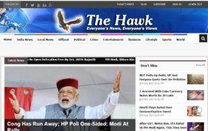 The Hawk News Website Dhanviservices Dhanvi Services